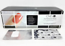 CND FOIL Nail Gel REMOVER WRAPS 250 ct ( for use with Shellac & Brisa Lite)