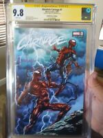 Absolute Carnage 1 Mico Suayan Variant CGC 9.8 SS