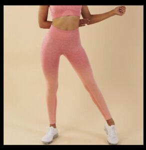 EEUC Gymshark Adapt Ombre Seamless Leggings size small
