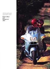 1997 BMW Motorcycle Accessories Original Brochure Catalog - K100 R80 R100 K75
