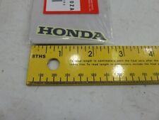 Honda CRF 50 150 250 450 87130-GEL-A00ZA MARK (TYPE1) (HONDA) Sticker Decal Embl