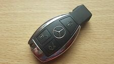 GENUINE MERCEDES: BENZ CLASS E S C SLK CLK COUP VITO ETC 3 BUTTON REMOTE KEY FOB