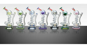 WOW Water Pipes Spiral WOW Lookah Glass Bong with classic design Shisha