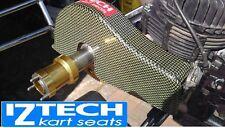 OTK KART CHAINGUARD   LIGHTWEIGHT  carbon/aramid   OTK/ X30 ROTAX/ SECONDS