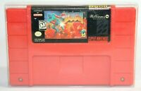 Doom SNES Super Nintendo Authentic, Cleaned & Tested! Works Great!