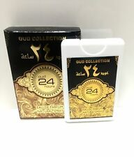 Oud 24 Hours Pure Perfume Spray 20ml Ard al Zaafaran Woody Musky Vanilla Genuine