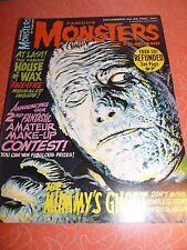 Famous Monsters of Filmland Magazine #36 December 1965