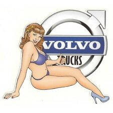 VOLVO TRUCKS right Pin Up Sticker droite