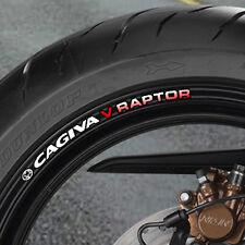 CAGIVA V RAPTOR AUTOCOLLANTS POUR JANTE ROUE - 650 1000 B