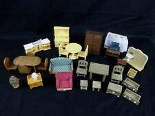 Sylvanian Families Doll House Furniture 29 Mixed Pieces Epoch