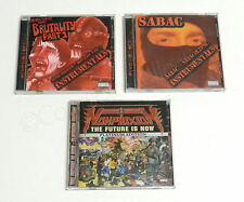 NON PHIXION SABAC NECRO 4 CDs! SABACOLYPSE BRUTALITY INSTRUMENTALS FUTURE IS NOW