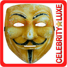 V for Vendetta Guy Fawkes Adult Mens Costume Mask Fancy Dress Party Face PVC