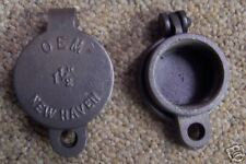 "FUEL OIL TANK CAP FOR 1-1/2"" PIPE W/FLAPPER TOP"