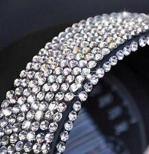 900 4mm Argent Cristal Diamant Strass bricolage décoration Autocollant Voiture/