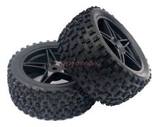 RC HSP 1:10 Off-Road Buggy 2x Front 2x Rear Rubber Tires & Wheel Rim 66005-66025