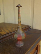 Vintage Ornate Brass India Turkey Turhish Middle Eastern Rose Waterer