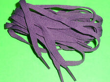 SHOELACES 220CM LONG FLAT  PURPLE LACES  **IN AUSTRALIA **SHOE LACES