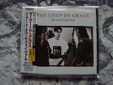 THE COUP DE GRACE The Art Of Survival CD JAPAN OBI