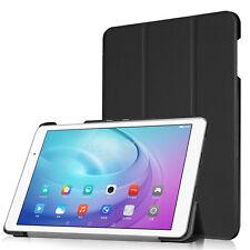 Custodia Smart Cover Nera Huawei MediaPad T2 10.0 Pro case stand nero eco pelle