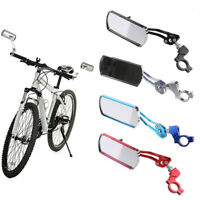 AM_ Bike Bicycle Cycling Rear View Mirror Handlebar Flexible Safety Rearview Del