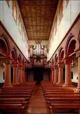 Kirchen Motiv-Postkarte Kirche Abteikirche Rheinmünster-Schwarzach Innenansicht