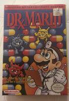 Brand New Sealed Dr. Mario NES (Nintendo Entertainment System, 1990) **RARE**