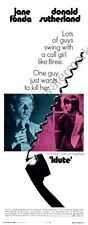 Klute Movie Poster Insert #01 Replica