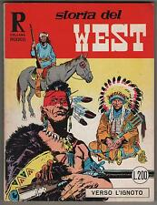 STORIA DEL WEST COLLANA RODEO N.1 VERSO L'IGNOTO araldo 1967 gino d' antonio
