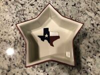 Texas Style Dinnerware, Serving Dish Bowl, Handmade in USA, Hartstone Pottery