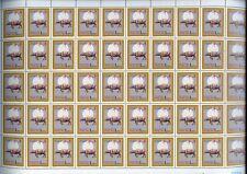 China Macau 1985 Zodiac New Year OX 50 stamp Full sheet MNH