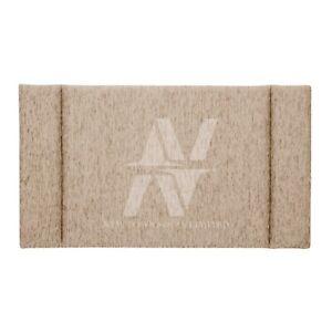Luxury Designer Bed Chenille Fabric Upholstery Fluted Headboard Handmade Kingsiz