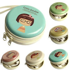 Mini Zipper Bag Earphone Headphone Box SD Card BOX bag Carrying Pouch Storage
