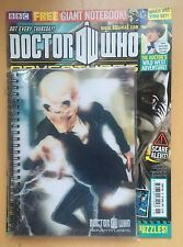 DOCTOR DR WHO BBC Magazine #264 FREE 3D NOTEBOOK Matt Smith David Tennant NEW