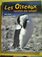 Livre Les oiseaux racontés aux enfants sommaire sur photo /Z85