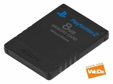 Official Sony PlayStation 2 Memory Card 8 MB Black Ps2 Genuine