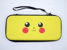 Zipper Bag Carrying Case handle For Nintendo Switch Console Joy-Con Pikachu