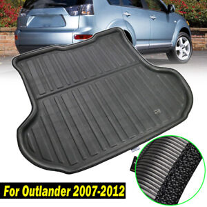 Rear Trunk Cargo Mat Tray Floor Boot Liner For Mitsubishi Outlander 2007-2012