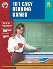 101 Easy Reading Comprehension Games Grade 5 by Carson-Dellosa