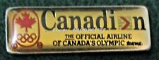 EARLY CANADIAN AIRLINES OLYMPIC TEAM Pin