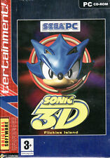 Sonic 3D Blast (2010, Sega) Brand New Factory Sealed UK PEGI 3+ PC Computer Game