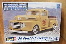 REVELL '50 FORD F-1 PICKUP TRUCK 2'n 1 MODEL KIT 1/25 SCALE