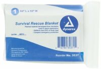 First Aid Only I800 Aluminized Rescue Blanket, 5/box