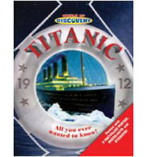 """""""VERY GOOD"""" World of Discovery - Titanic: Packed with Amazing Atlas Poster, Pres"""