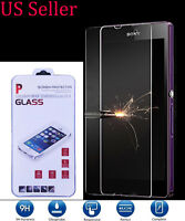 9H Tempered Glass Screen Protector for Sony Xperia Z L36H C6603 C6606
