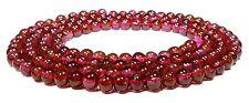 Garnet Seed Beads Small BALLS Approx. 3 mm Gemstone Beads Strand GRAN-5