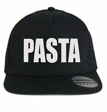 Cappello Pasta italiana, cappellino Pastasciutta, scritta divertente, Chef Cuoco