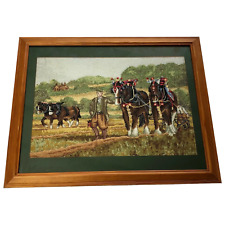 More details for original irish farmer working in county cork field prized shire horses tapestry