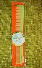 CHI Organics Olive Nutrient Therapy Dual Purpose Taper Comb (OL20) Tangle Free