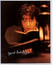 "HARRY POTTER ""Daniel Radcliffe"" signed autograph photo"