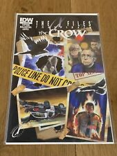 The X Files The Crow Conspiracy #1 IDW Comics 1st Print NM